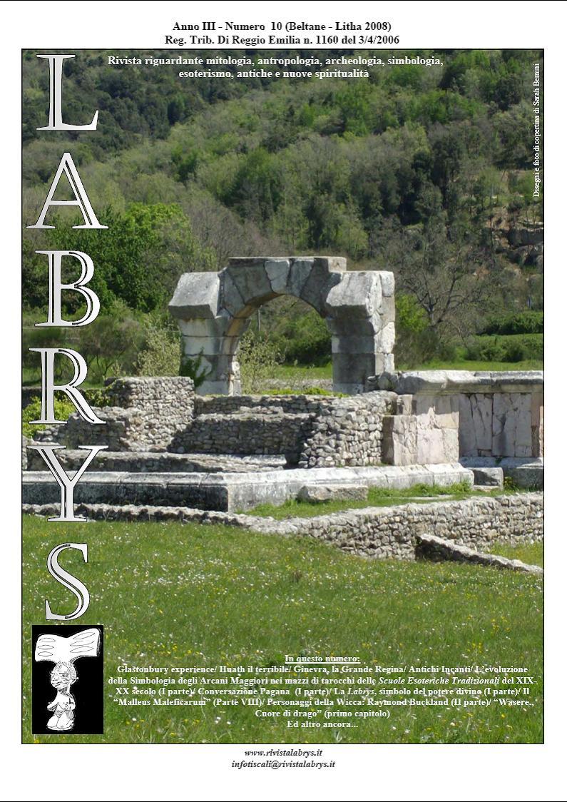 Copertina rivista Labrys 10