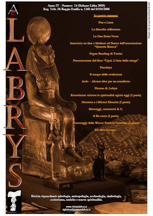 Copertina rivista Labrys 14