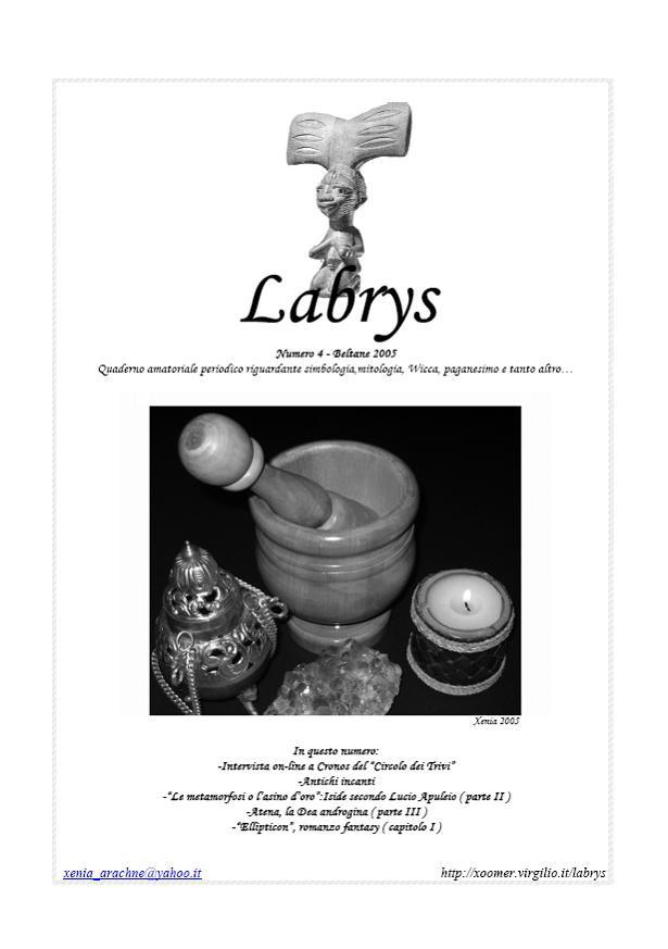 Quaderno amatoriale Labrys 4