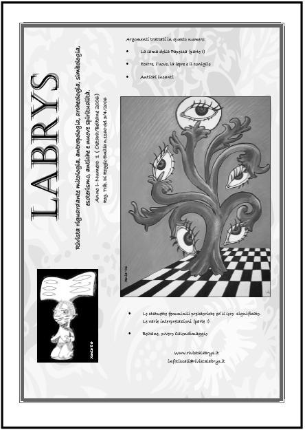 Copertina Rivista Labrys n. 1