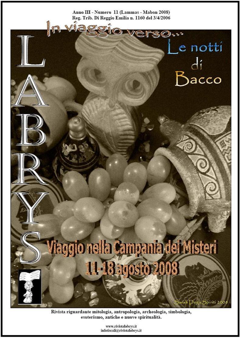Copertina rivista Labrys 11