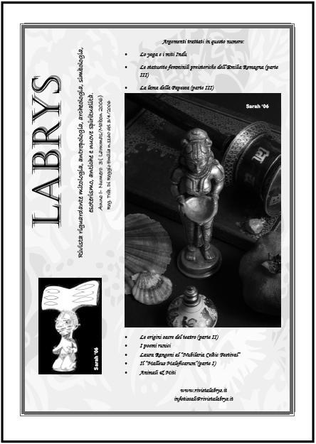 Copertina rivista Labrys 3