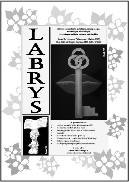Copertina rivista Labrys 7