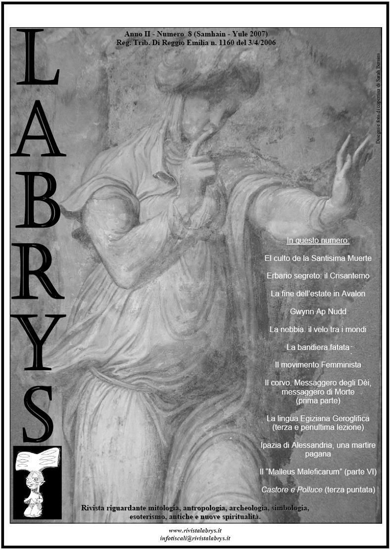 Copertina rivista Labrys 8