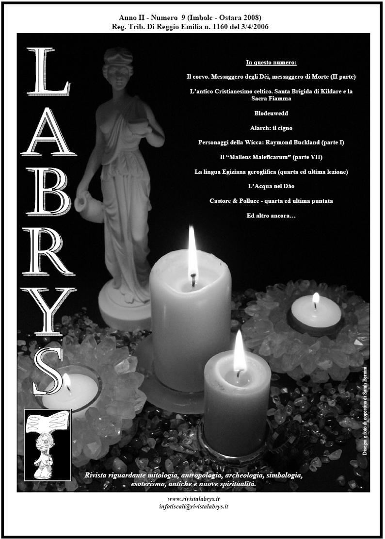 Copertina rivista Labrys 9