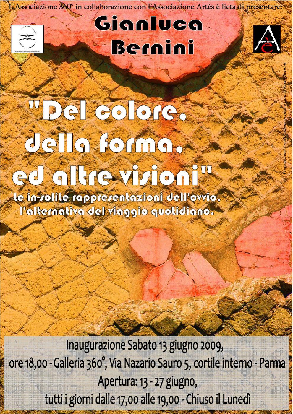 Mostra Gianluca Bernini