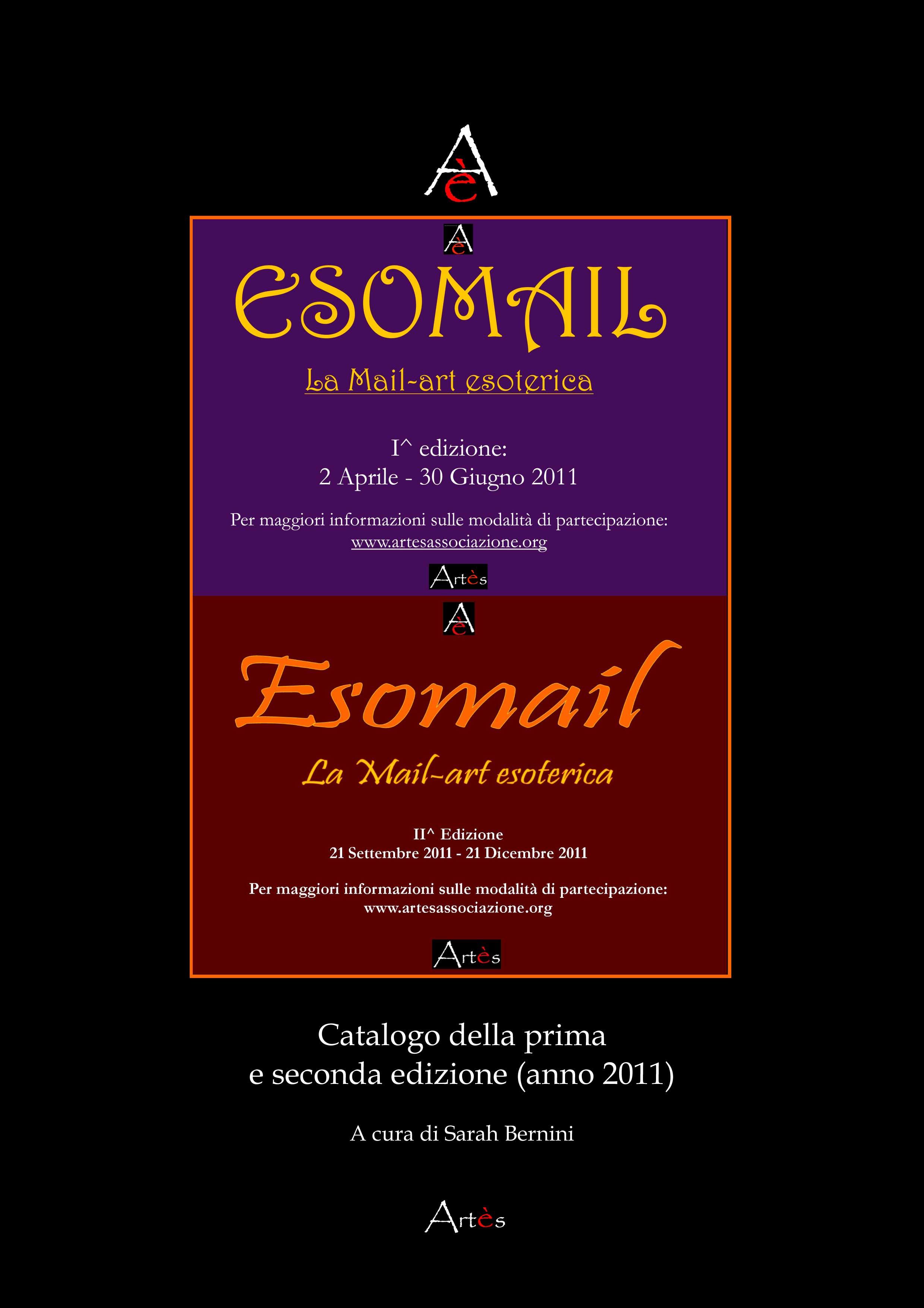 Copertina catalogo I^ e II^ edizione di Esomail