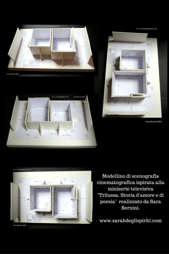 Modellino di scenografia cinematografica by Sarah Bernini/Sarah degli Spiriti