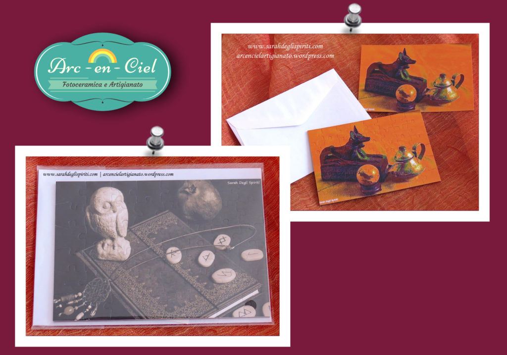 Puzzle con foto realizzate da Sarah Bernini/Sarah Degli Spiriti.